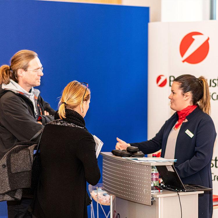 Die UniCredit Bank Austria bei den Praxisgründungstagen in Wien