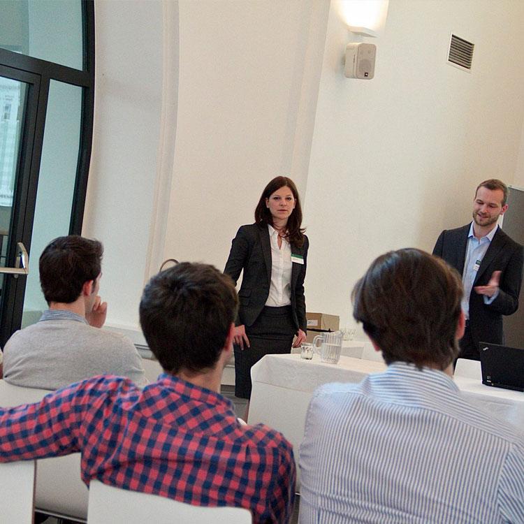 Die Boston Consulting Group bei den Karrieretagen in Wien