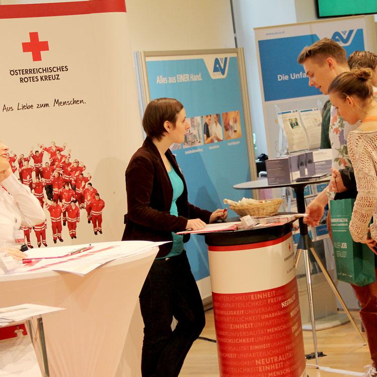 Das Österreichische Rote Kreuz bei den Karrieretagen